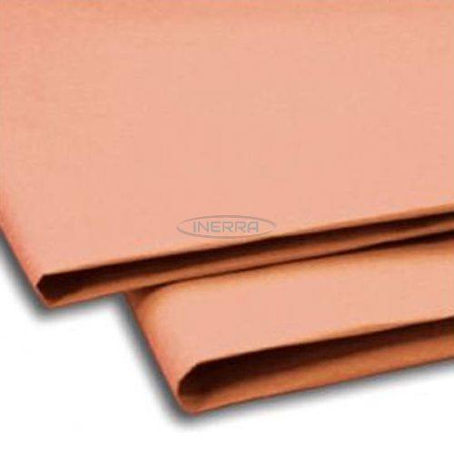 peach tissue paper sheets