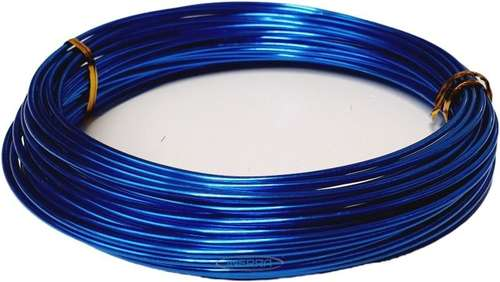 royal blue Green Aluminium Florist Wire - 11.5 Metre Reel