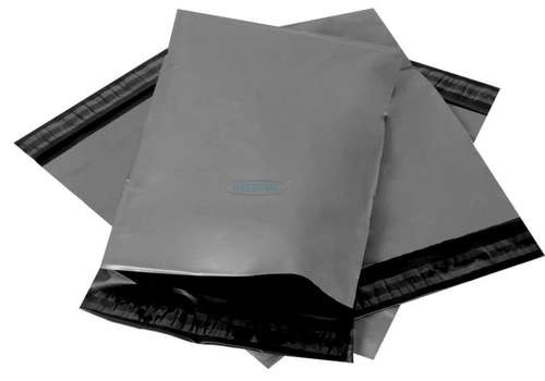 "Grey Postage Poly Mailing Bags 6"" x 9"""