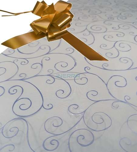 copper hamper wrapping kit cellophane wrap bow