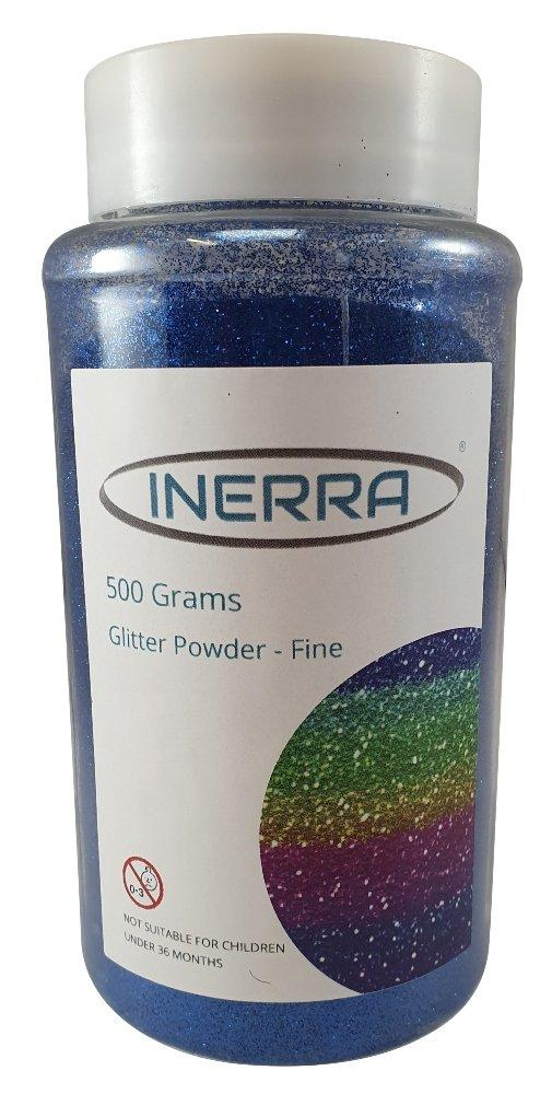 royal blue 500g glitter shaker tubs card making christmas school craft