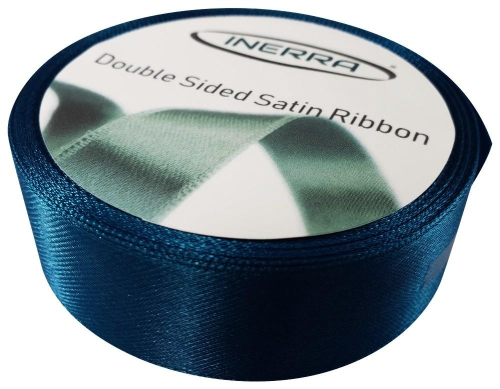 navy 25mm satin ribbon