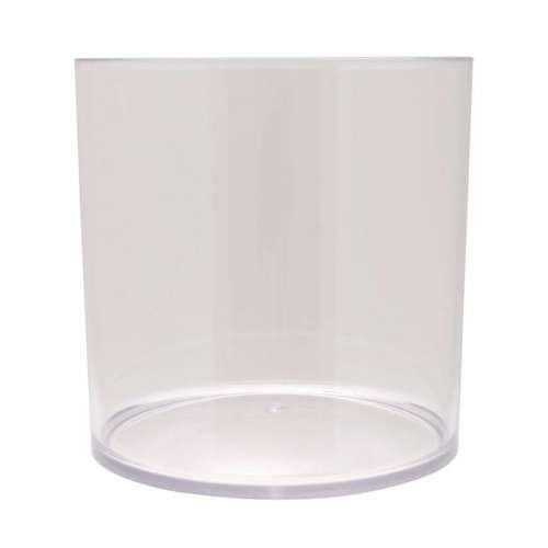 clear acrylic cylinder vase orchid coffee pod storage