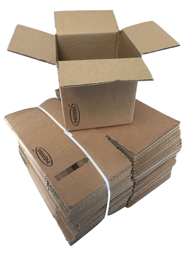 "8"" x 8"" x 8"" Cardboard Packaging Boxes"