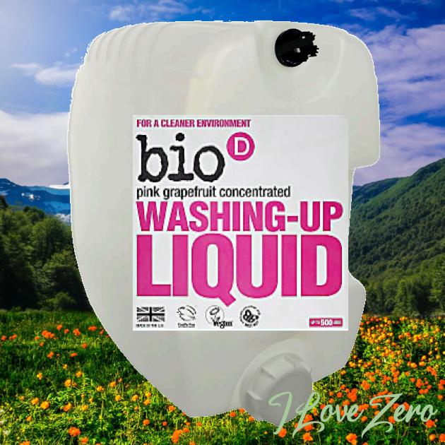 Bio-D Pink Grapefruit Washing Up Liquid
