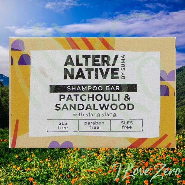 Patchouli & Sandalwood Shampoo Bar
