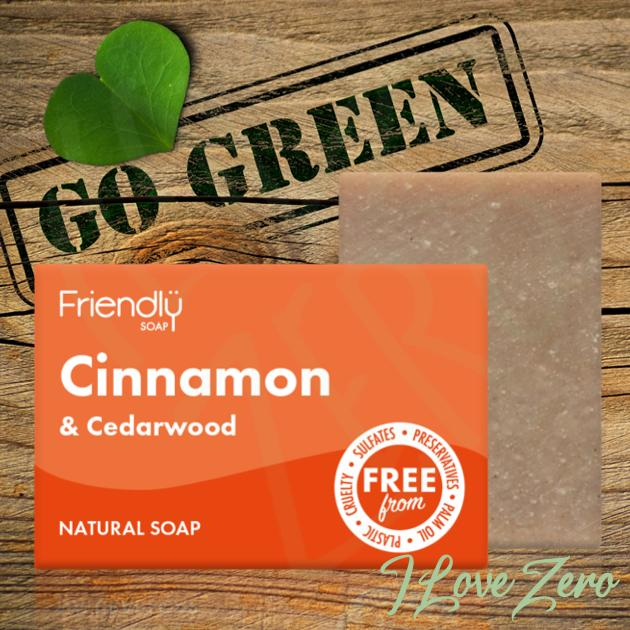 Cinnamon & Cedarwood Soap