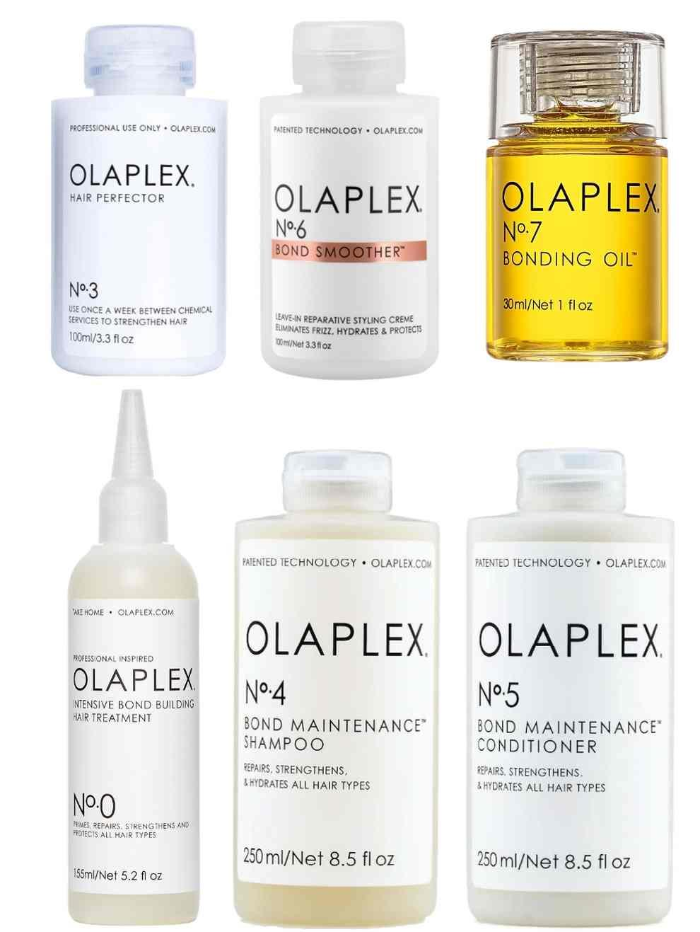 Olaplex Mega Collection Bundle (No. 0, 3, 4, 5, 6, 7)