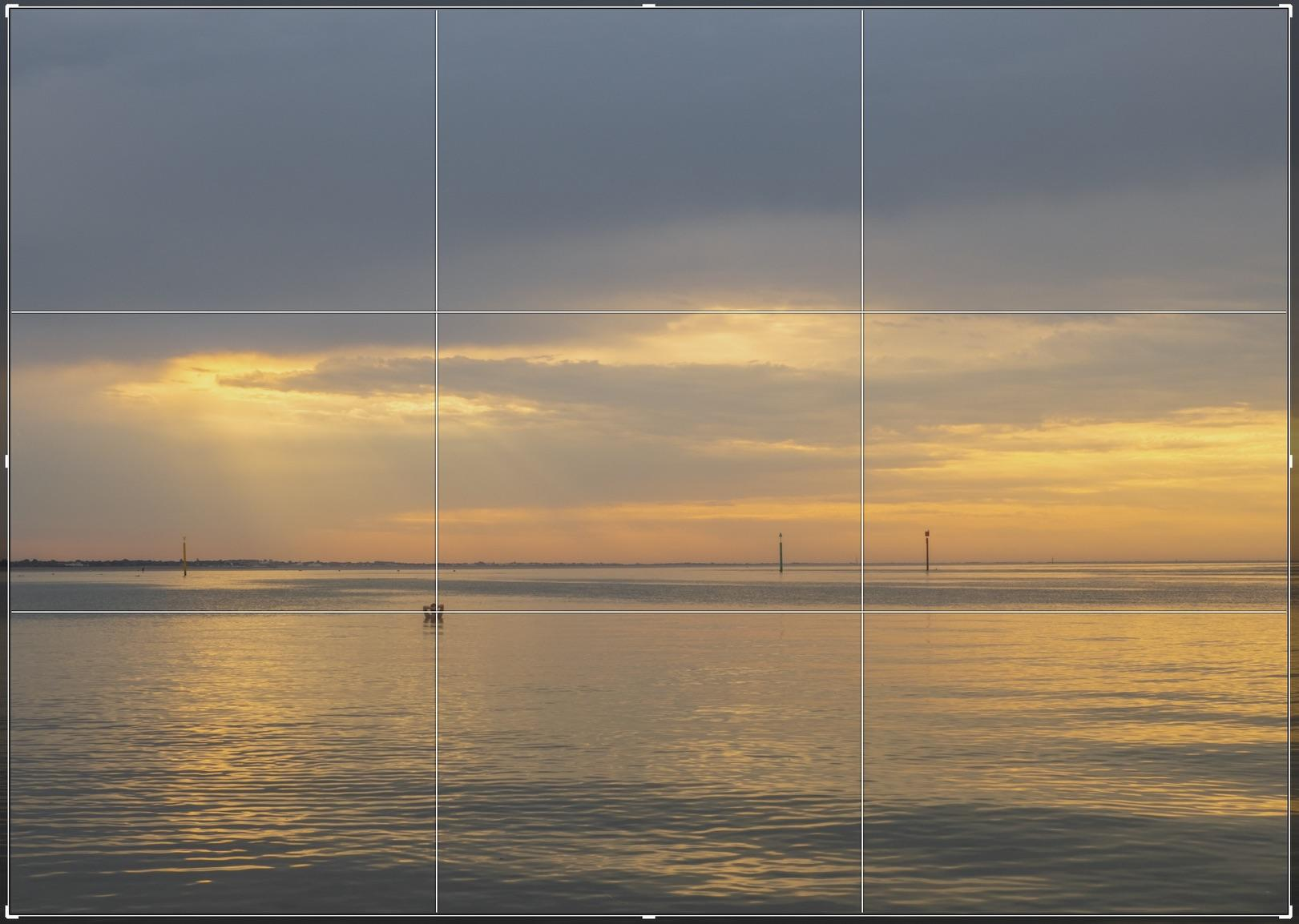 Alternative edit of the Rule of Thirds for Dawn Dip