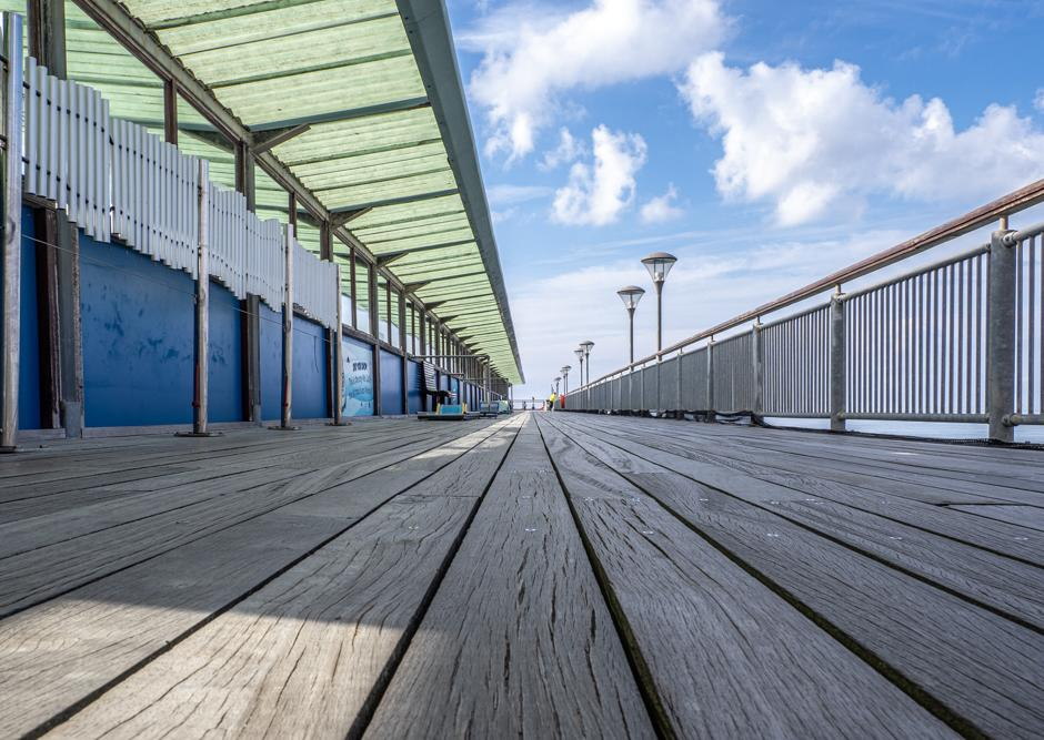 An image called Converging Lines on Boscombe Pier