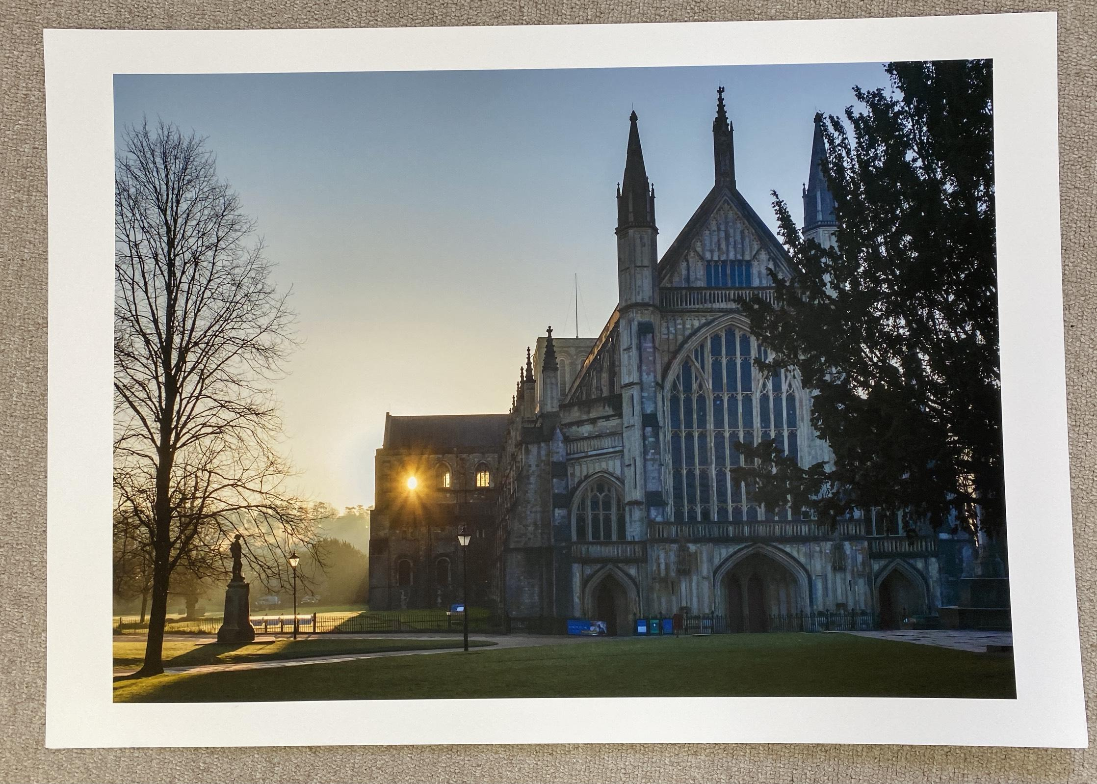 A2 fine art print of Shining Light, our newest print