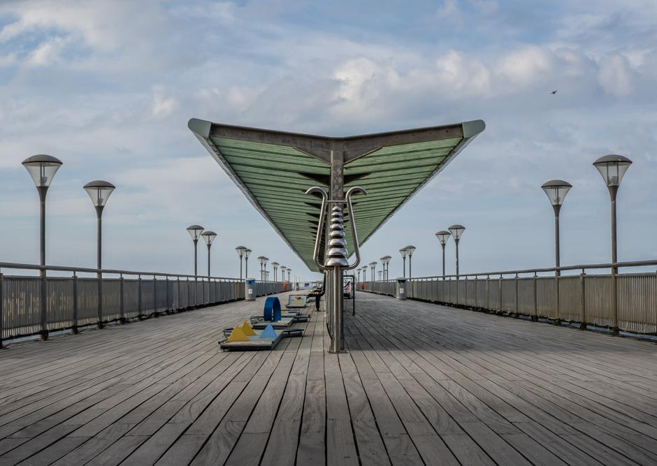 An image called Mini Golf on Boscome Pier - a future wall art print