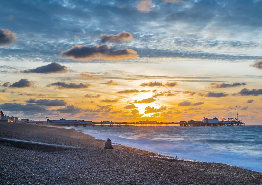 An image called Brighton Sunrise, taken in November 2018