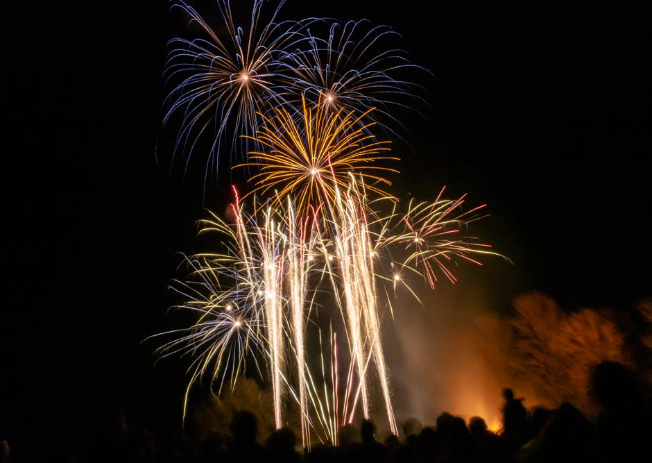 Firework Night using Time Mode on an Olympus Camera in 2015