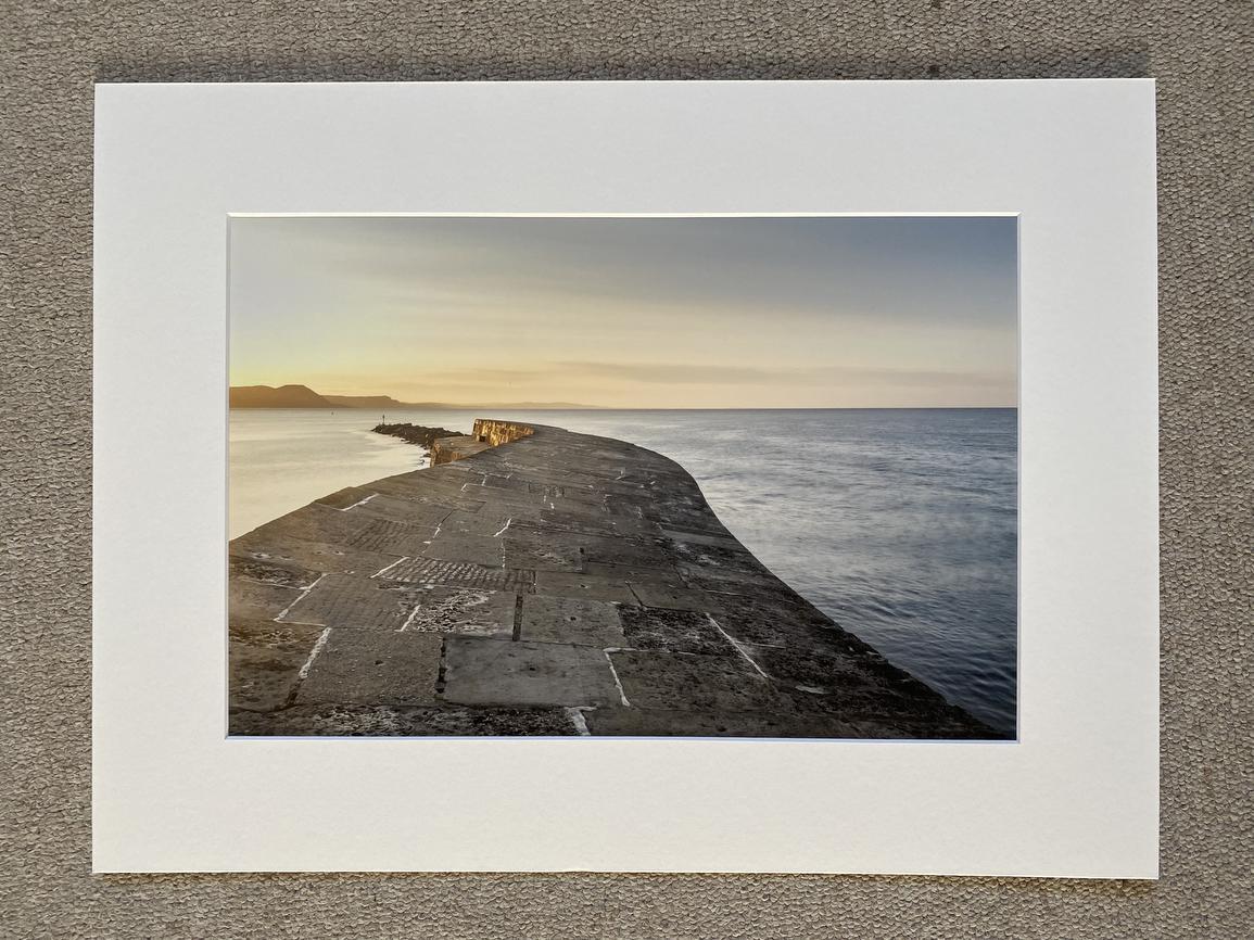 The Cobb at Lyme Regis I - a seaside wall art print