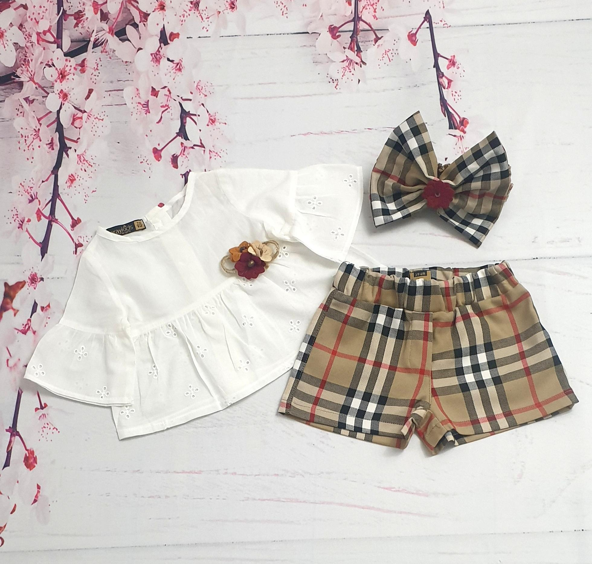 infant girl clothing set