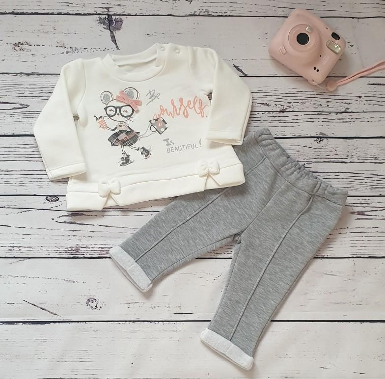 children wear baby girl mouse set