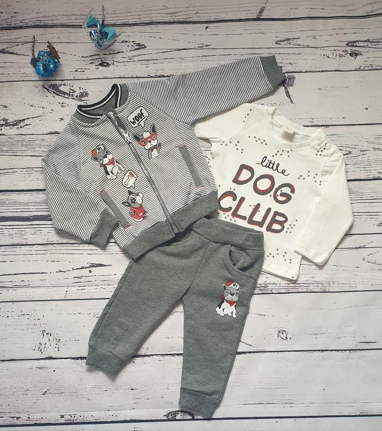 children wear baby boy dog set