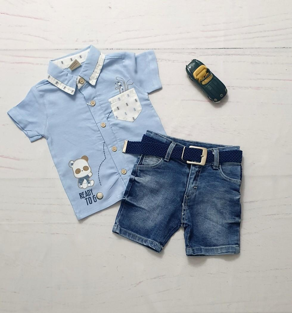baby boy denim shorts
