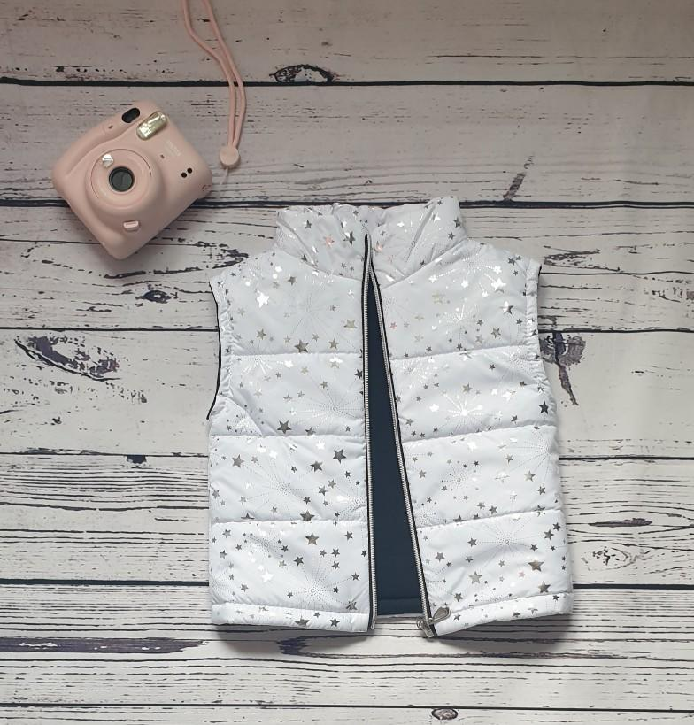 children wear baby girl gilet shiny stars