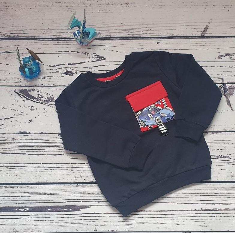 children wear baby boy sweatshirt car