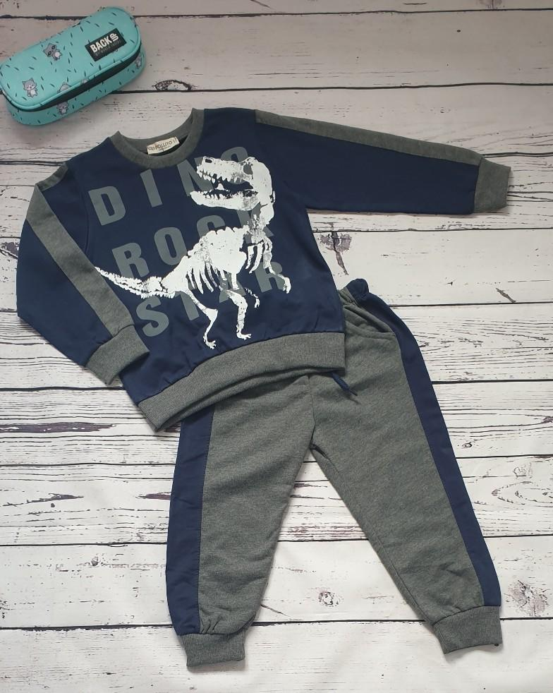 children wear boys set dinosaur skeleton