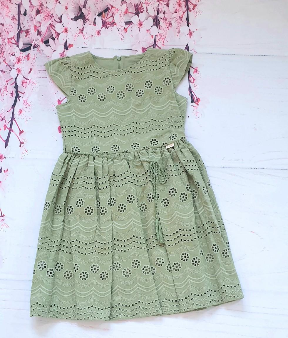 girls olive dress