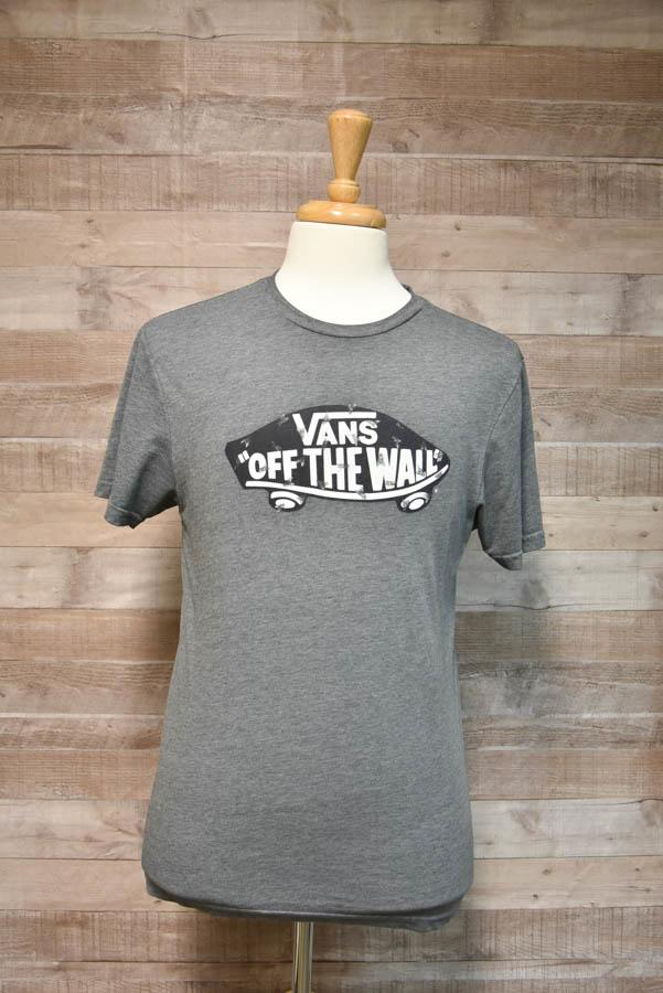Vans Off The Wall Grey Mens Jumper Size Large-4403.jpg