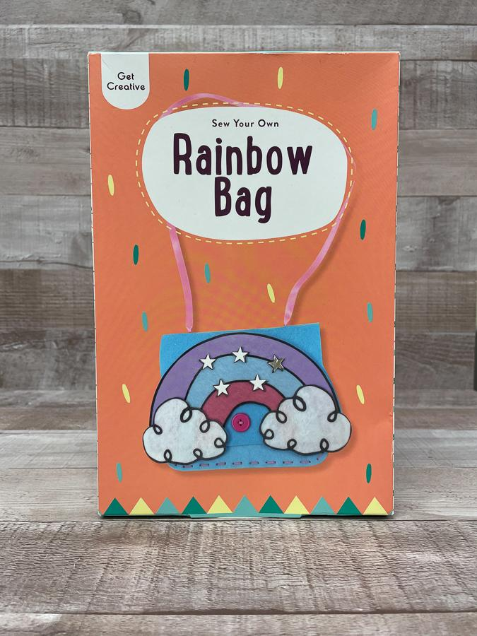GET CREATIVE SEW YOUR OWN RAINBOW BAG