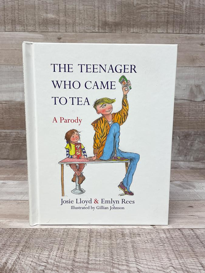 THE TEENAGER WHO CAME TO TEA JOSIE LLOYD AND EMLYN REES.JPG