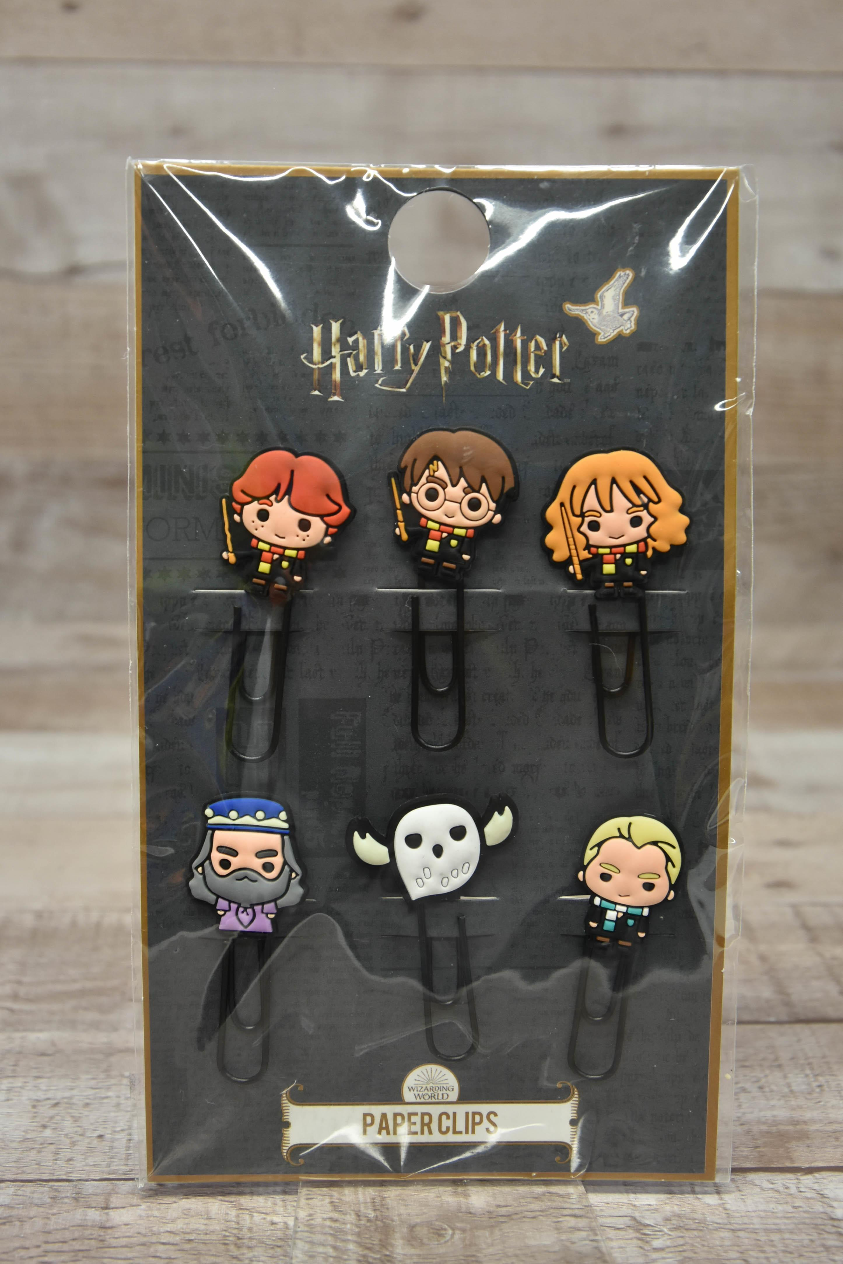 Harry Potter Set of Six Paperclips New-5659