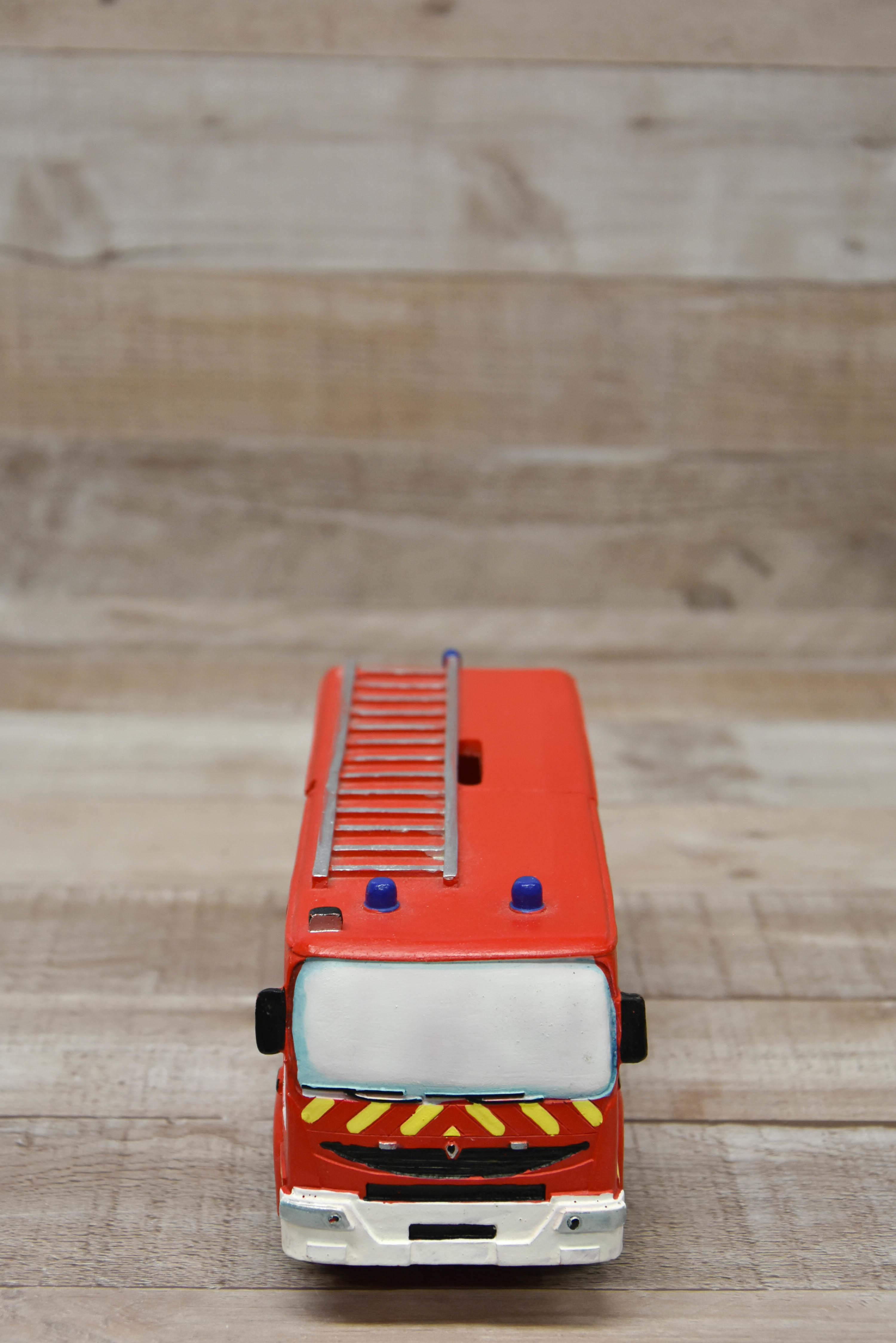 Fire Engine Money Box-5621