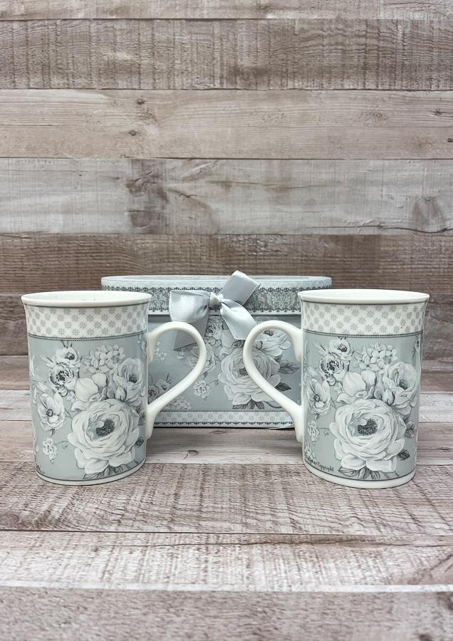 GREY AND WHITE BOXED SET OF TWO FLORAL DESIGN MUGS26-02-2021 at 13.22.37 2.JPG