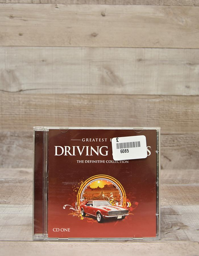 GREATEST EVER DRIVING SONGS - THE DEFINITIVE COLLECTION CD