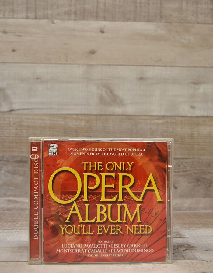 THE ONLY OPERA ALBUM YOU'LL EVER NEED DOUBLE CD
