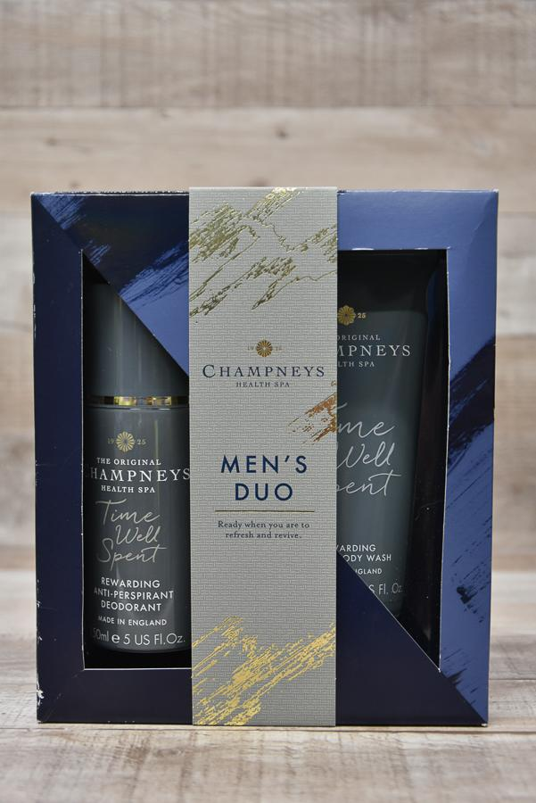 CHAMPNEYS MENS DUO GIFT SET