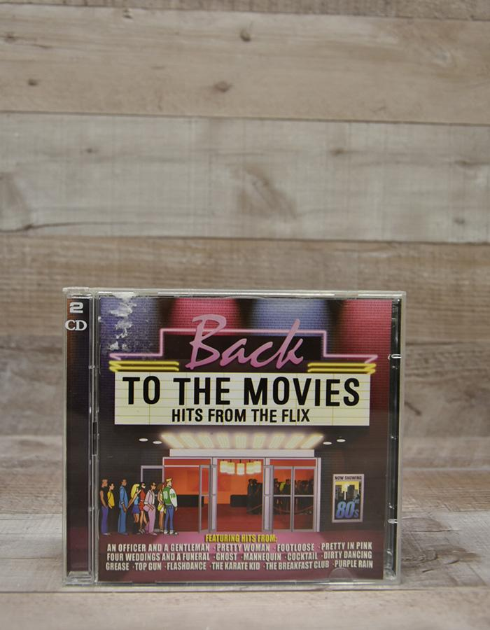 BACK TO THE MOVIES - HITS FROM THE FLIX DOUBLE CD