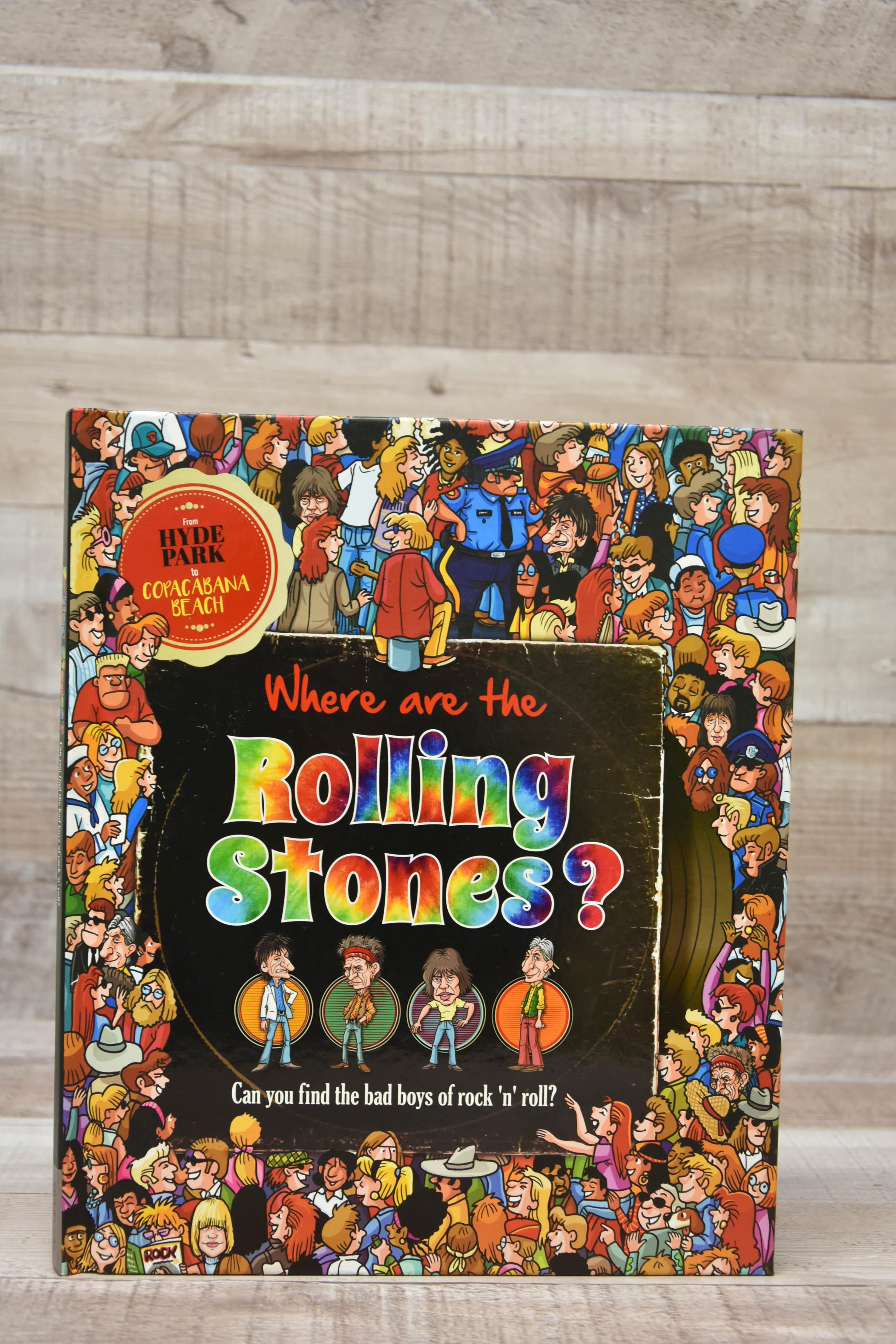 Where are The Rolling Stones Igloo Books Hardback -4631