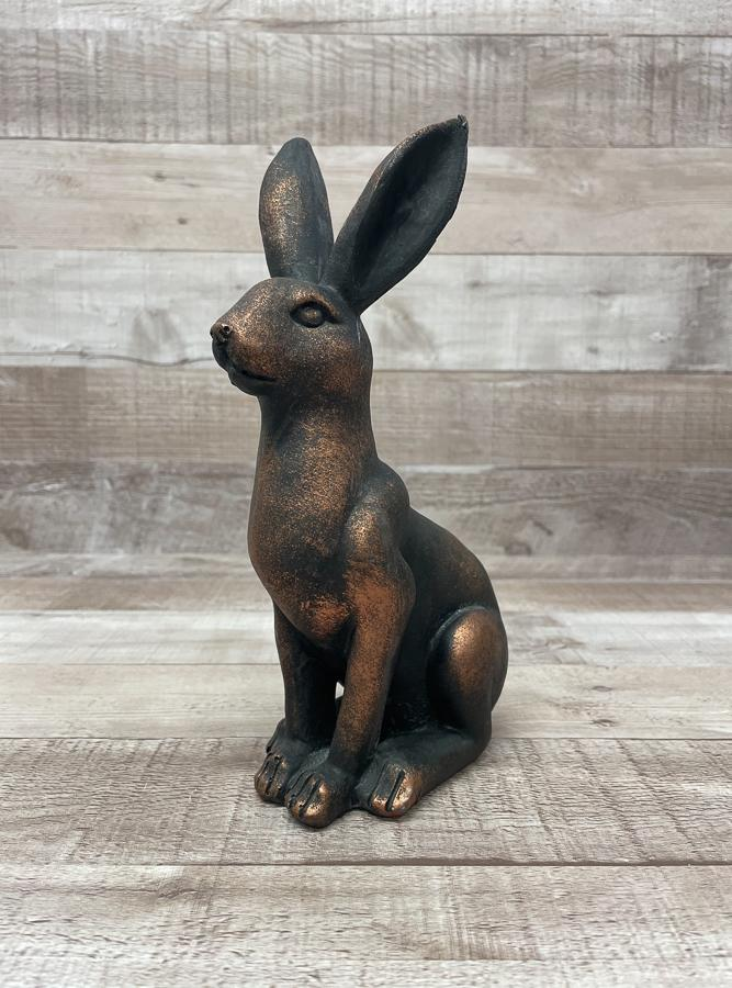 HOME ETC BRONZE EFFECT SITTING HARE19-02-2021 at 15.00.31 2.JPG
