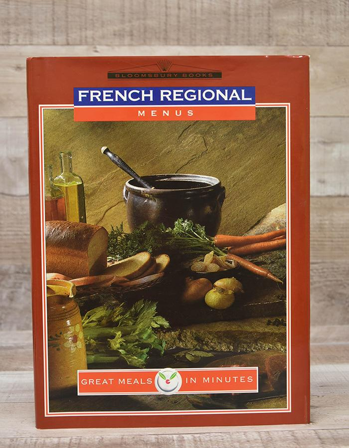 GREAT MEALS IN MINUTES FRENCH REGIONAL MENUS HARDBACK COOKERY BOOK