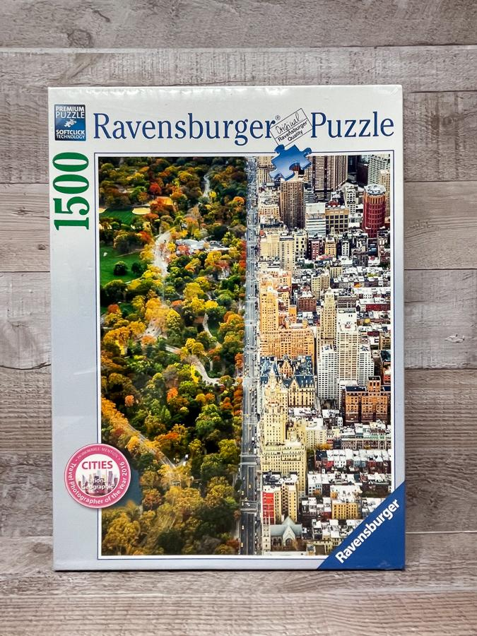 RAVENSBURGER 1500 PIECE PUZZLE CITIES.JPG
