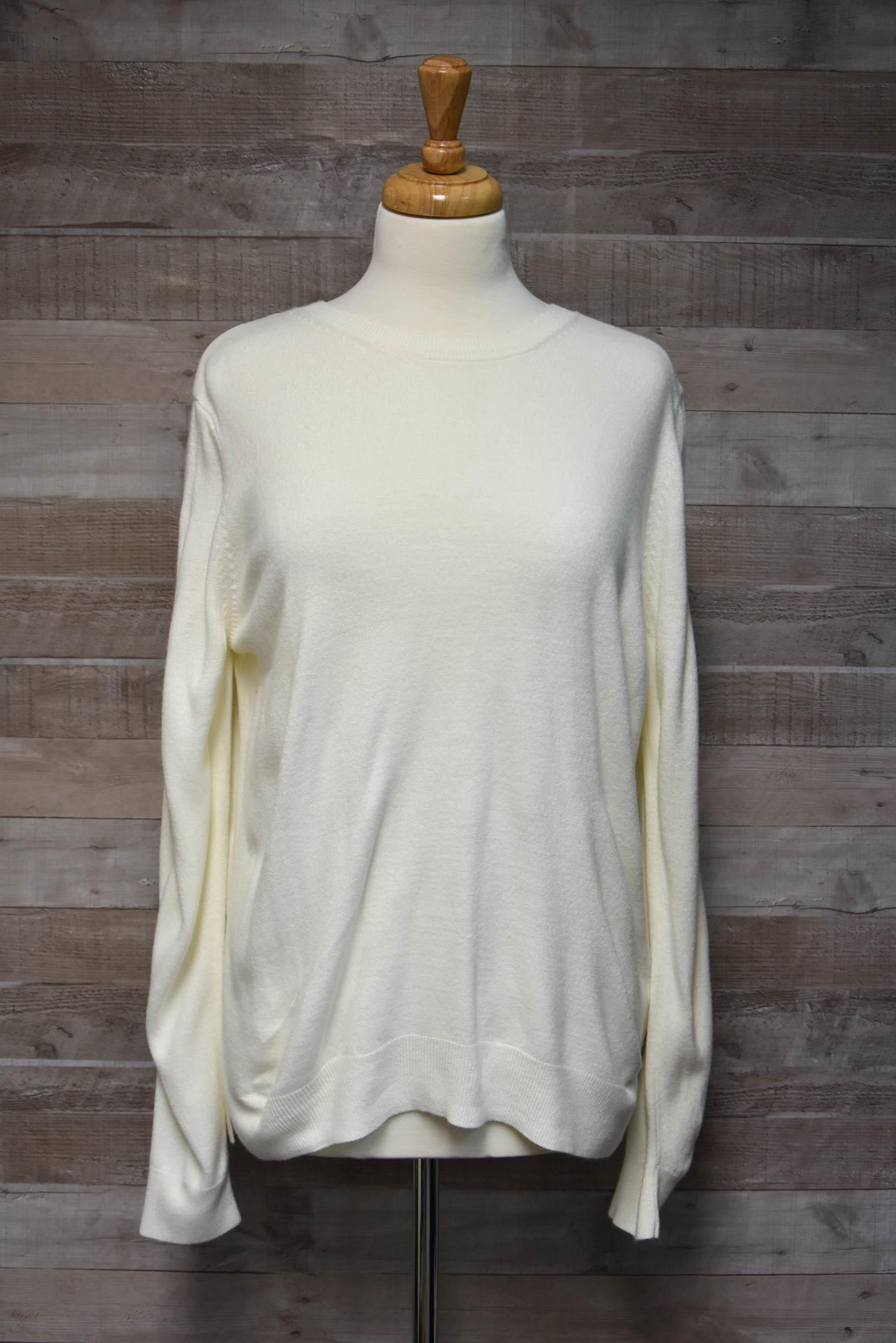 Marks and Spencers Cream Ladies Jumper Size 2027-01-2021 at 10.22.24
