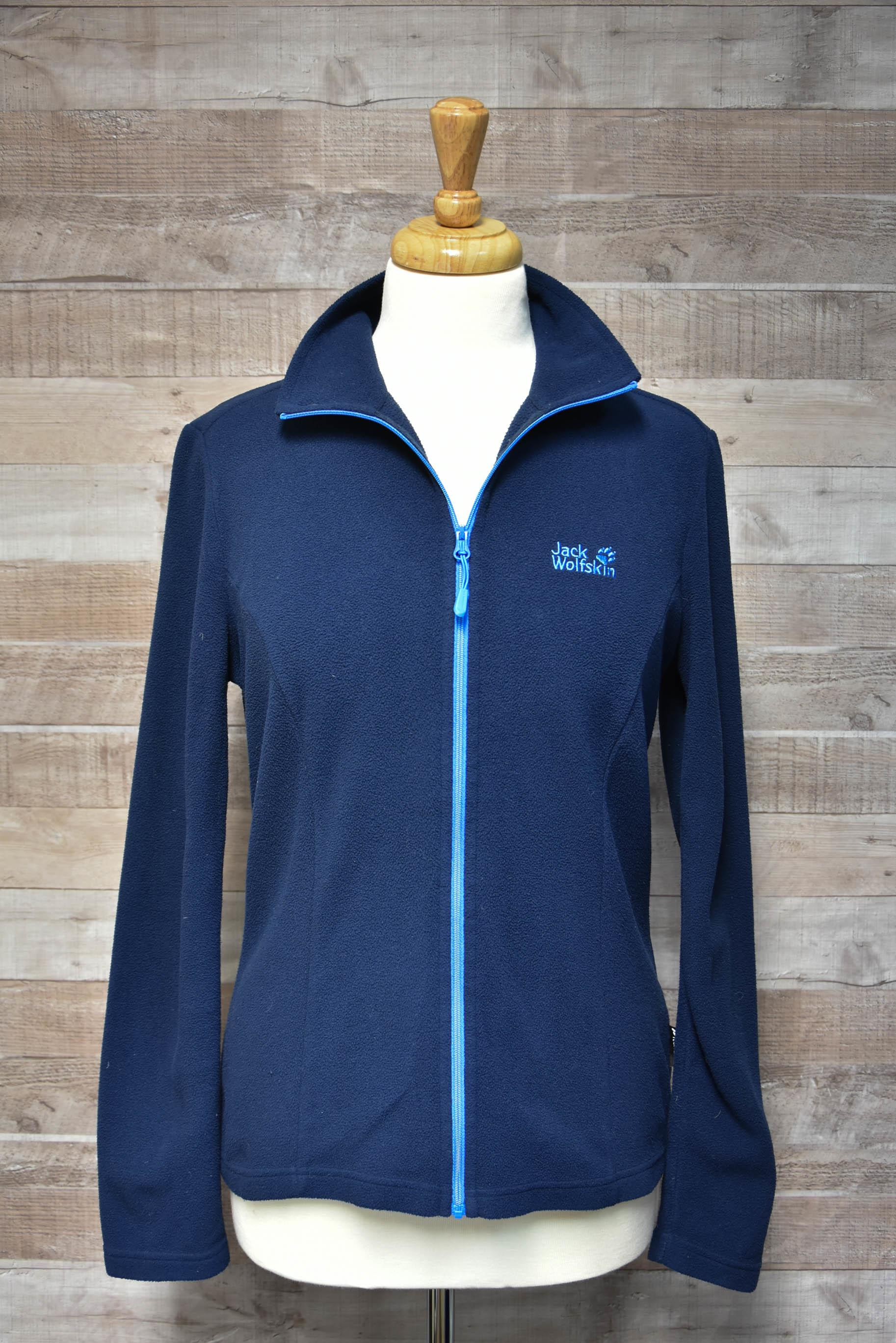 Jack Wolfskin Navy Ladies Zipped Fleece Size 1227-01-2021 at 10.23.02 6