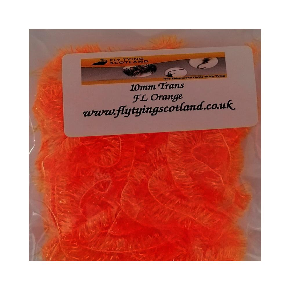 10mm trans fl orange
