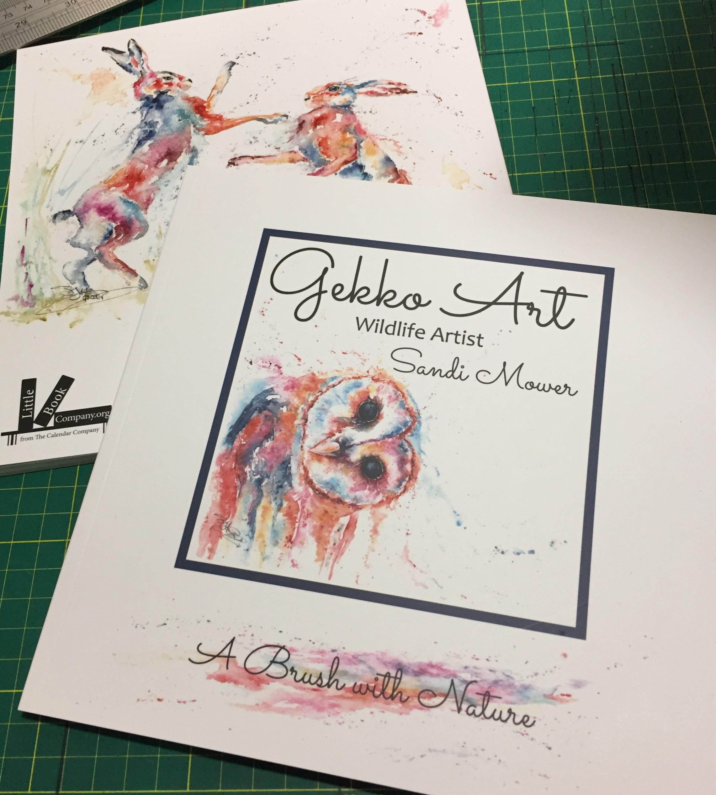 gekko art book
