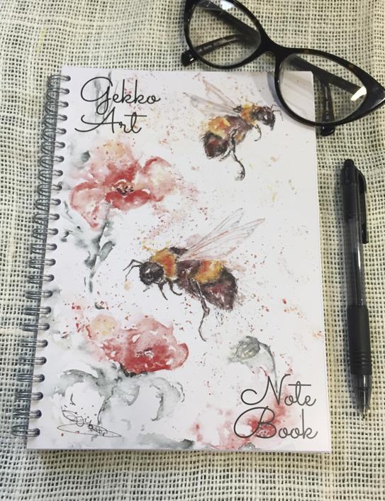 poppy bees notebook