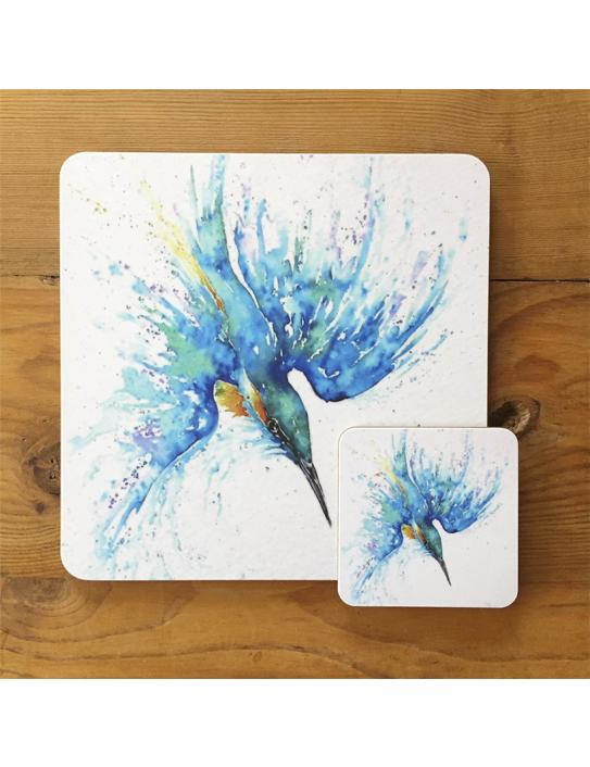 kingfisher tablemat