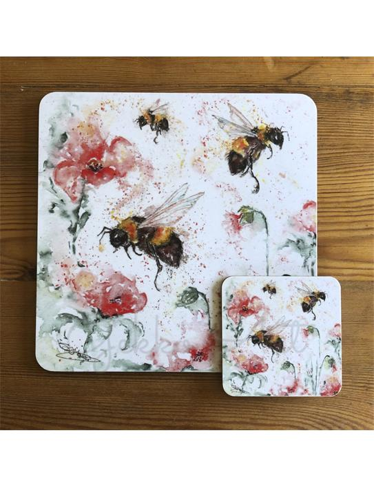 bee tablemat