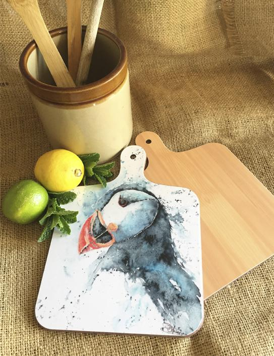 puffin chopping board