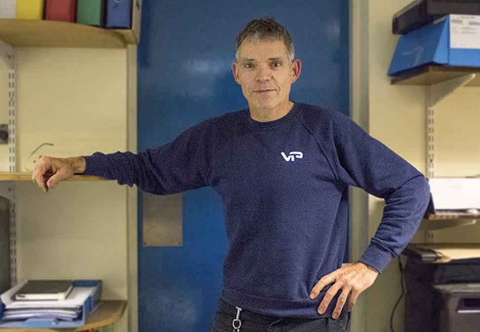 Clive Richardson, Managing Director of Various Truck Parts [VTP]